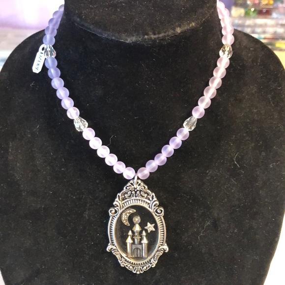 Lotus Blossom Jewelry - Ornate Castle Pendant Necklace